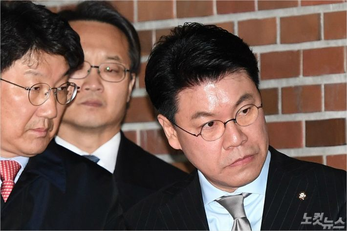 "MB 구속에 한국당 '나홀로 반발'…""정치보복, 무척 잔인"""