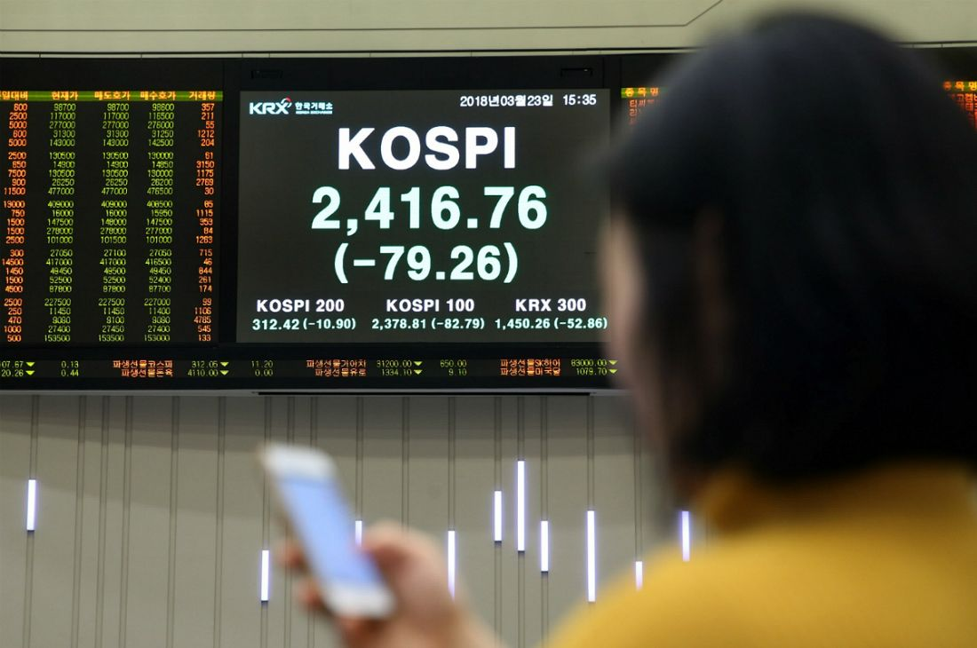 美中 무역전쟁에 국내 금융시장 '검은 금요일'