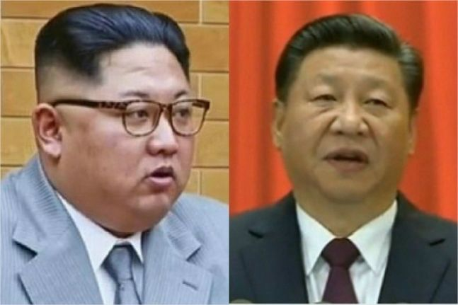 """김정은 """"시진핑 초청…정세관리·중요사안 깊게 논의"""""""