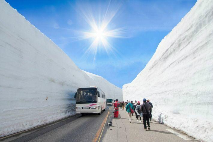 일본의 알프스 '도아먀 알펜루트' 자유여행이 뜬다