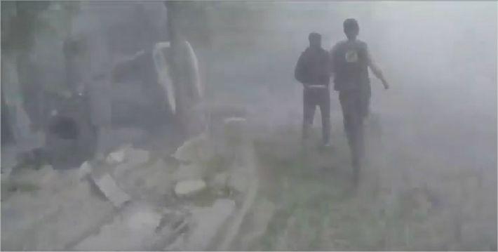 """시리아 수도 6차례 이상 폭발…시리아 """"미사일 13개 요격"""""""
