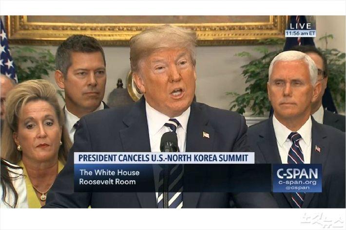 """트럼프 """"회담 열릴 가능성도 있다…근심말라"""""""