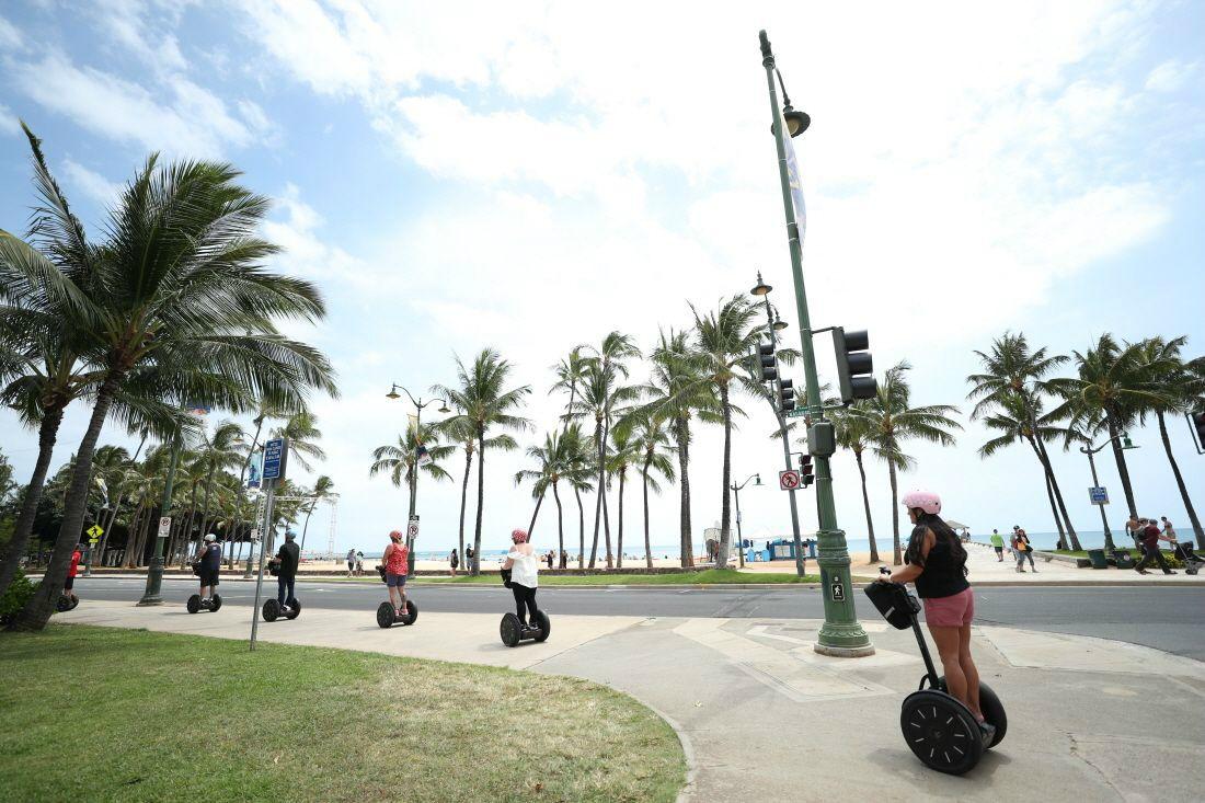 렌터카 대신 즐기는 하와이의 이색 액티비티