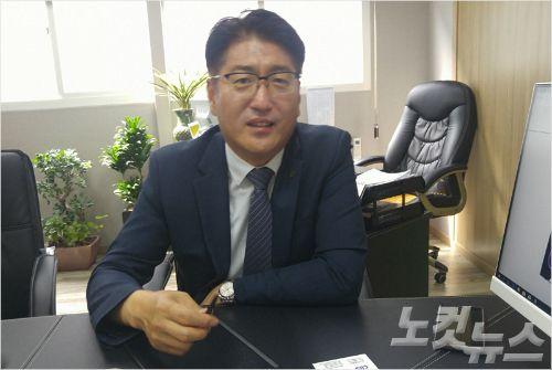 (주)코리아정보통신 김영식 대표 (사진 = 강동수 기자)