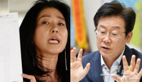 김부선 TV뉴스 출연 예고·· 이재명의 대응은?