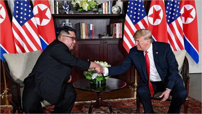 """김정은 """"성공적으로 과거 털어"""", 트럼프 """"나도 그렇게 믿어"""""""
