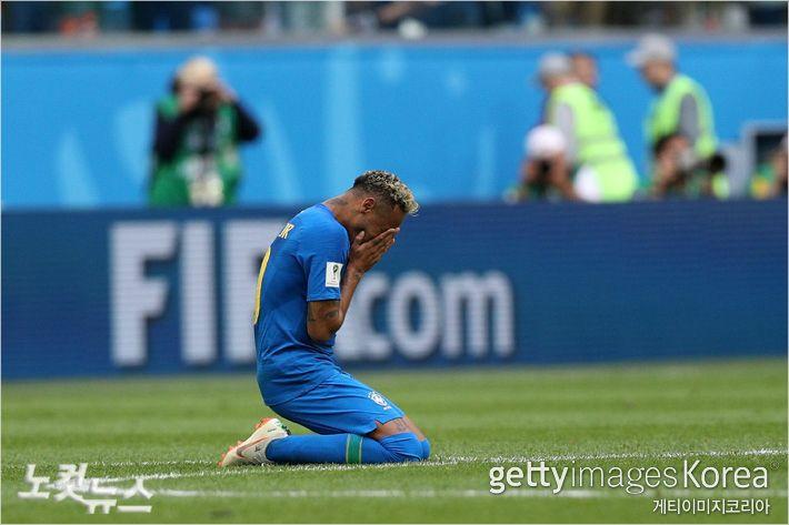 '월드컵 결승도 아니고…'  네이마르 눈물의 의미는?