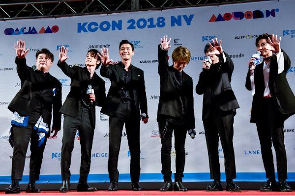 [화보] 슈주·레드벨벳…'KCON 2018 NY' 레드카펫 현장