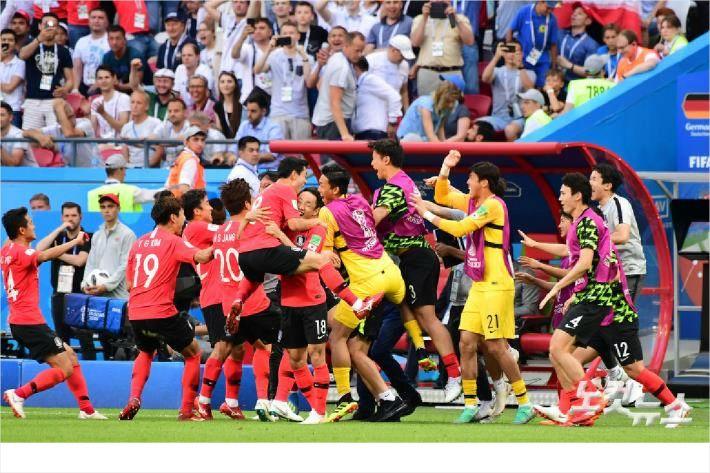 '8계단 상승' 한국, 러시아 월드컵 최종 19위