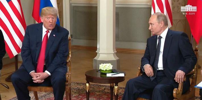 트럼프·푸팃 첫 정상회담…北 비핵화 해결 위해 협력