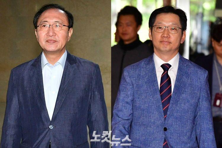 """허익범 특검, '노회찬·김경수' 겨눴다…""""소환 불가피"""""""