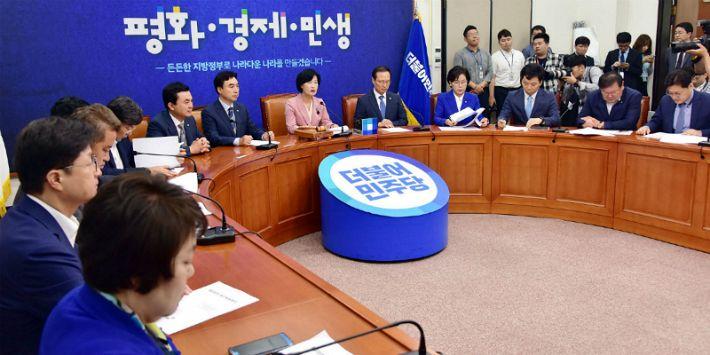 민주당, 8.25 전당대회 시행세칙 확정