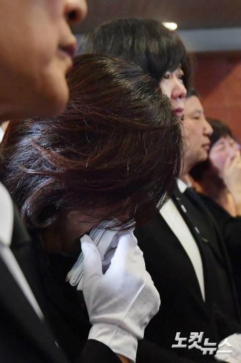 [전문] 정의당 이정미 대표 故 노회찬 의원 영결식 추도사