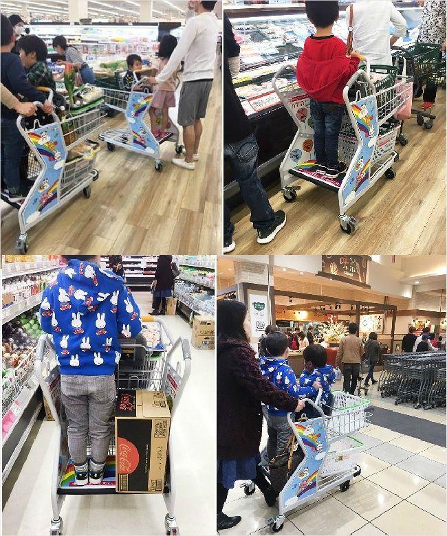 """[신기방기] """"이런 쇼핑 카트를 봤나!"""" 일본 주부들 폭발적 반응에 품절사태"""