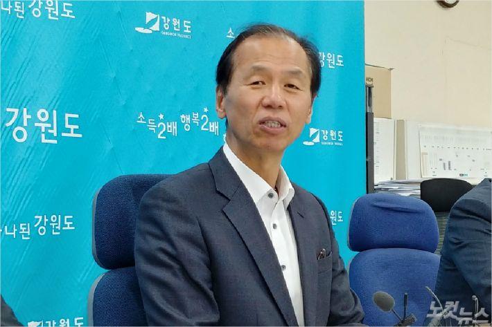 최문순 강원도지사.