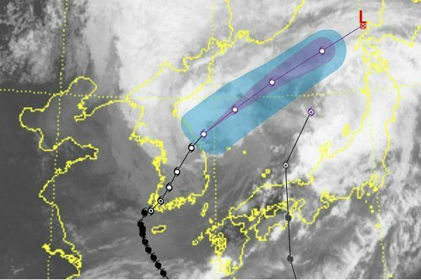 19호 태풍 솔릭(SOULIK) 피해없이 충북에서 물러나