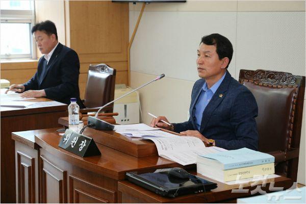 강원도의회 기획행정위원장 곽도영 의원(사진=강원도의회 제공)