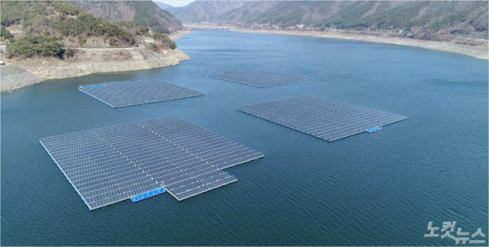 보령댐 수상 태양광 발전시설