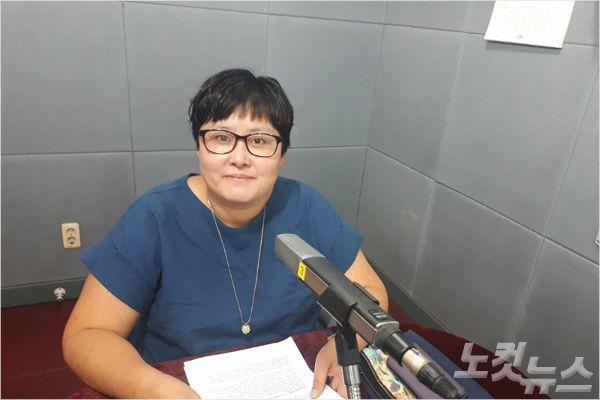 강원CBS'시사포커스 박윤경입니다'에 출연한 이민아 이사(사진=강원CBS)