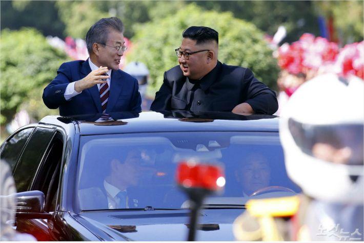 """[평양회담] """"내일 트럼프 엉덩이 들게 할 합의문 나올까?"""""""