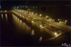 세계 최장 새만금방조제도로, 모든 구간 불 밝힌다