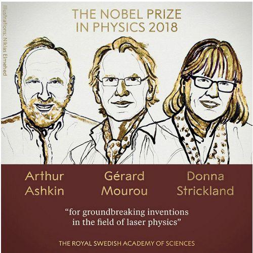 노벨 물리학상, '레이저 물리학 혁명' 이끈 美·佛·加학자 공동수상