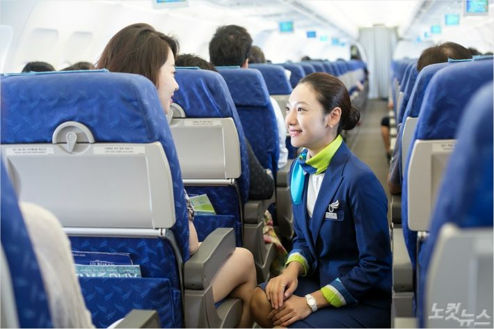 에어부산이 한국능률협회컨설팅이 주관한 고객만족도 조사에서 6년 연속 저비용항공사 부문 1위를 달성했다 (사진 = 에어부산 제공)