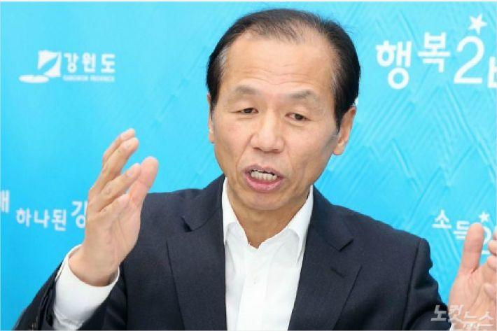 강원FC 구단주 최문순 강원도지사.(사진=강원도 제공)