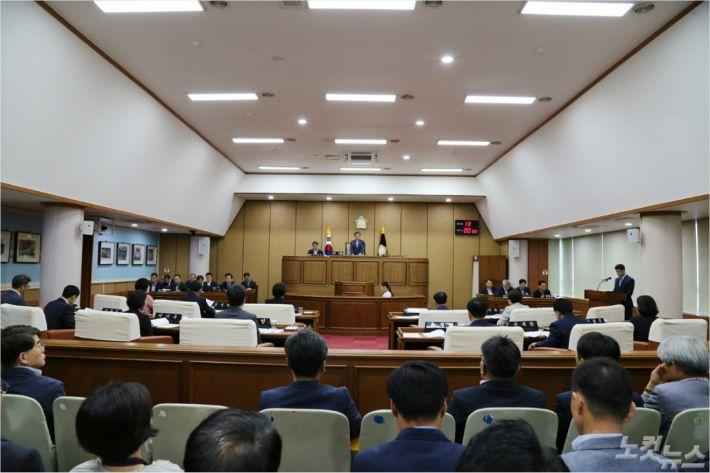 통영시의회(사진=의회 제공)