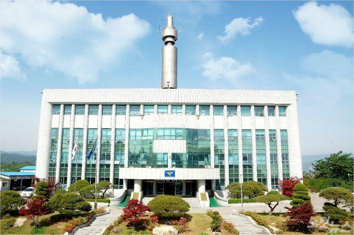 강원 고성경찰서 청사 사진. (사진=고성경찰서 제공)