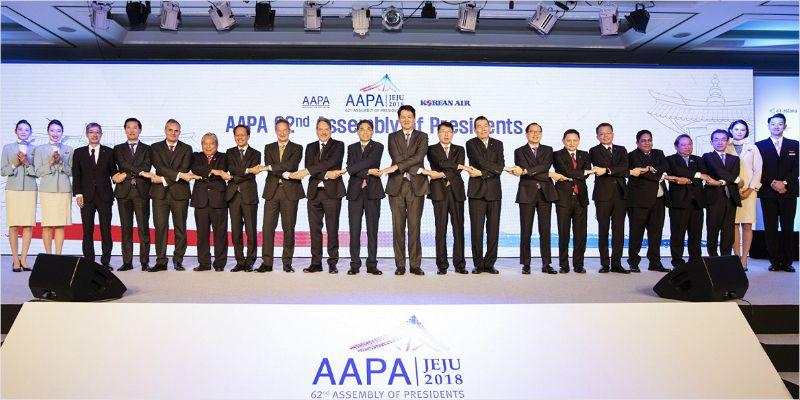 """""""아시아·태평양 항공업계 거물들 한자리에"""" AAPA 사장단 회의 개최"""