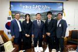 김해시 찾은 일본 무나카타시 공무원, 스마트방재시스템 '엄지척'