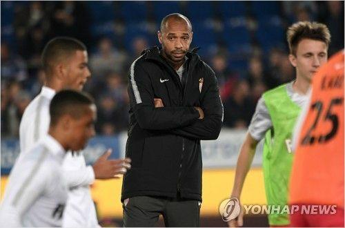 """앙리, 감독 데뷔전서 뼈아픈 패배…""""쉽지 않은 경기였다"""""""