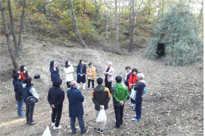 강원지역 생태환경 교육 모델학교 조성을 위해 '2018 숲 생태 프로젝트'를 참여하고 있는 고성 죽왕초등학교의 1년차 성과보고 워크숍이 지난 30일 죽왕초등학교에서 열렸다.(사진=진유정)