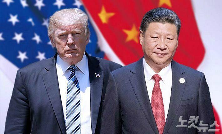 """트럼프·시진핑 통화 """"무역문제 중점, 北문제도 논의""""(종합)"""