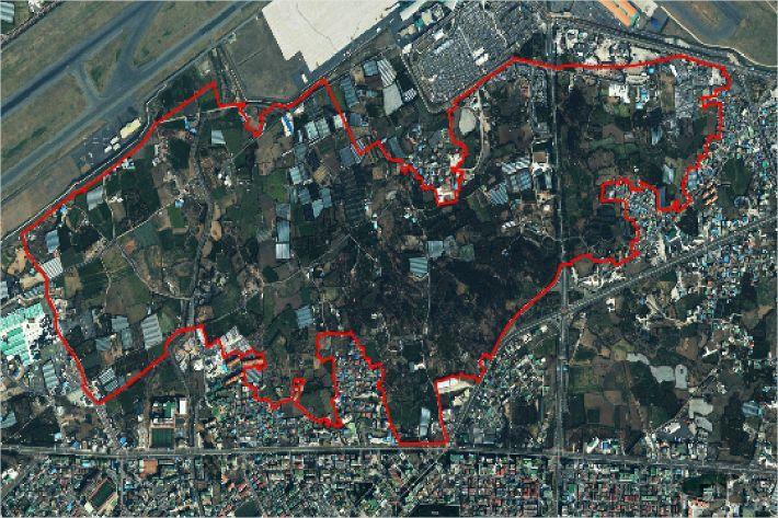 개발행위허가 제한지역으로 지정된 제주공항 광역복합환승센터 예정지(사진=자료사진)