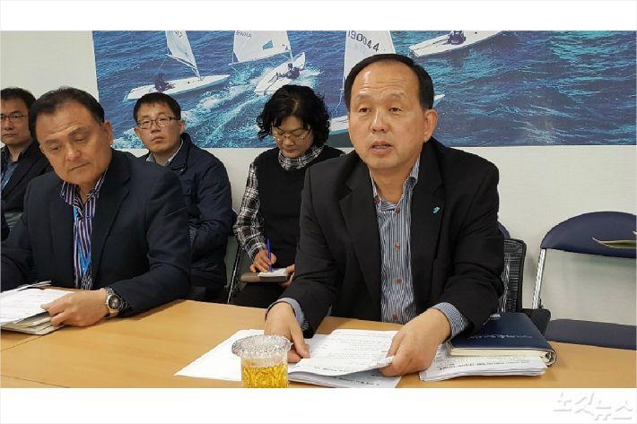 송석주 여수시 경제해양수산국장(사진=고영호 기자)