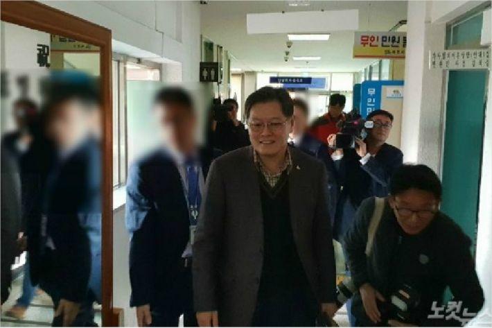 이경일 강원 고성군수에 대한 구속 영장이 기각됐다. (사진=전영래 기자)