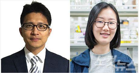 DGIST 뇌·인지과학전공 서진수 교수와 박사과정 황현정 씨