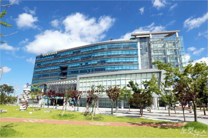 전라북도교육청 전경 자료 사진