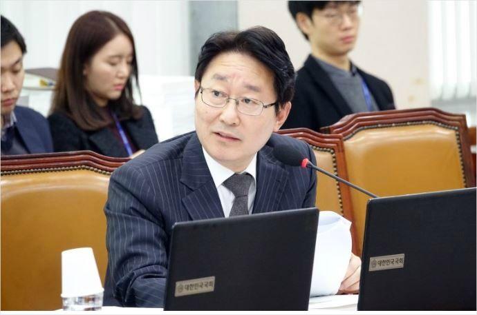 """박범계 """"자치경찰제, '민중의 지팡이' 구현할 것"""""""