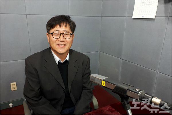 강원CBS'시사포커스 박윤경입니다'에 출연한 강원도사회적경제지원센터 이강익 센터장(사진=강원CBS)