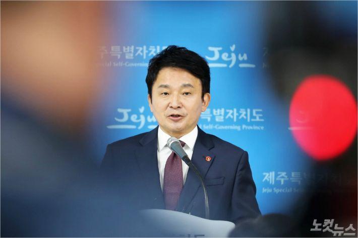 원희룡 제주지사 (자료사진)