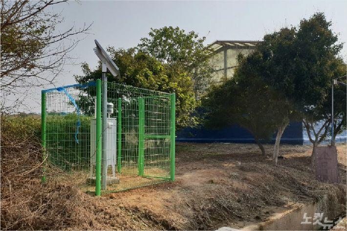 정읍시가 설치한 무인악취포집기(사진=정읍시청 제공)