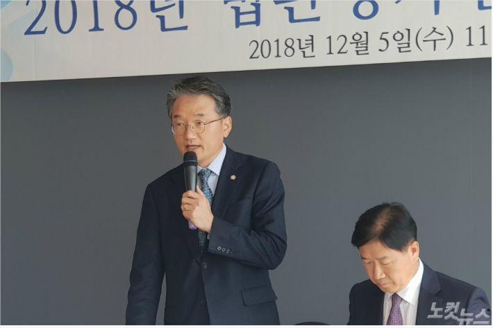 황규표 전북변호사회 회장. (사진=김민성 기자)