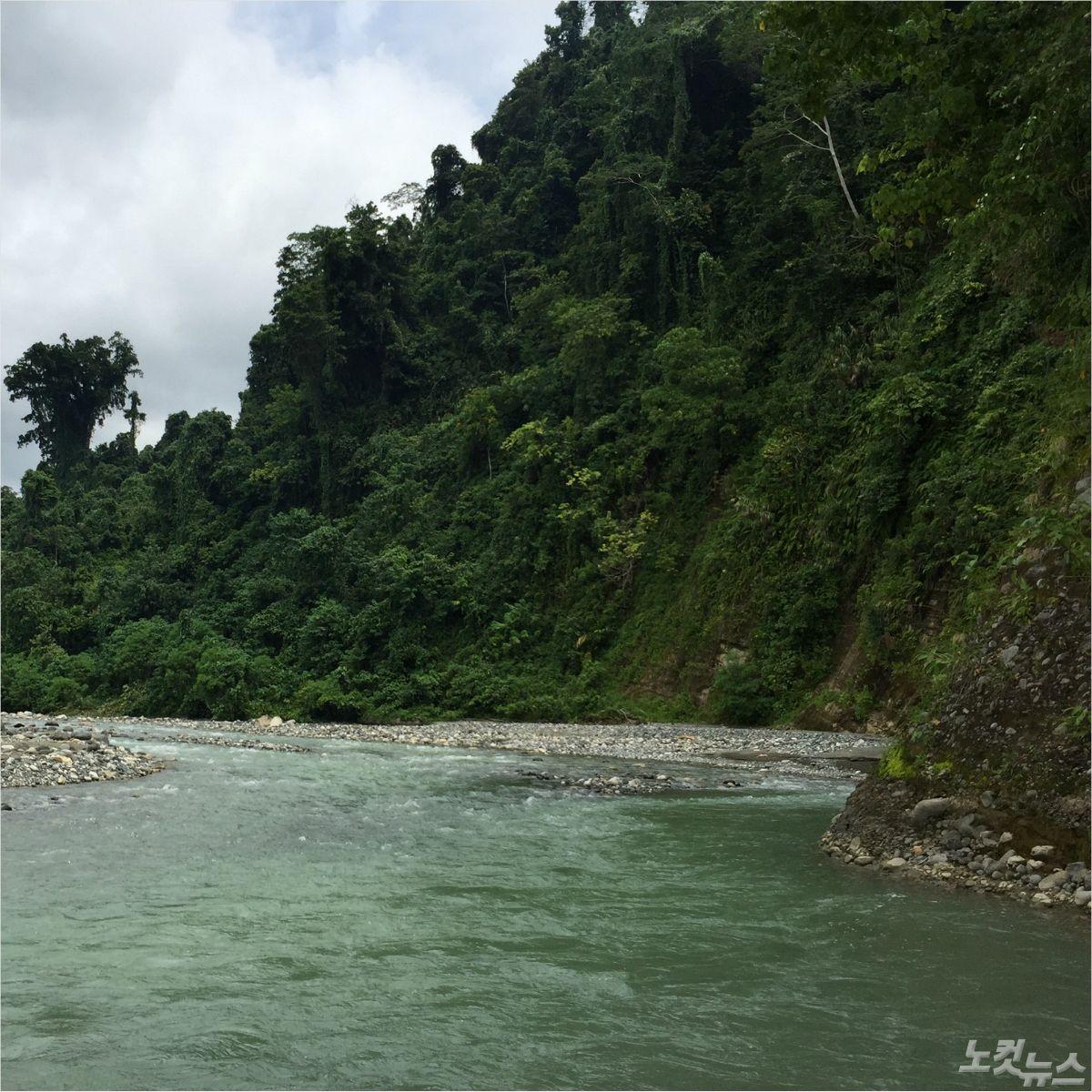 솔로몬제도 수력발전 예정지 티나강 유역