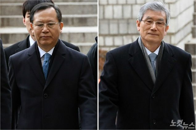 '영장 기각'으로 한숨 돌린 박병대·고영한
