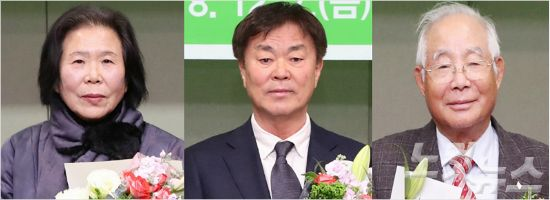 전남도문화상 수상자, 김옥애·김오현·최상준 씨 (사진=전남 도청 제공)