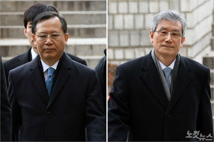 檢, 박병대·고영한 전 대법관 구속영장 재청구 방침