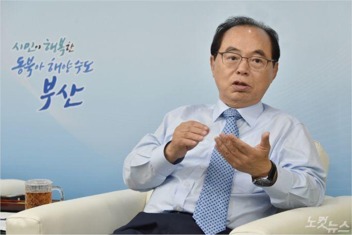 [라디오매거진 인터뷰] 오거돈 부산시장